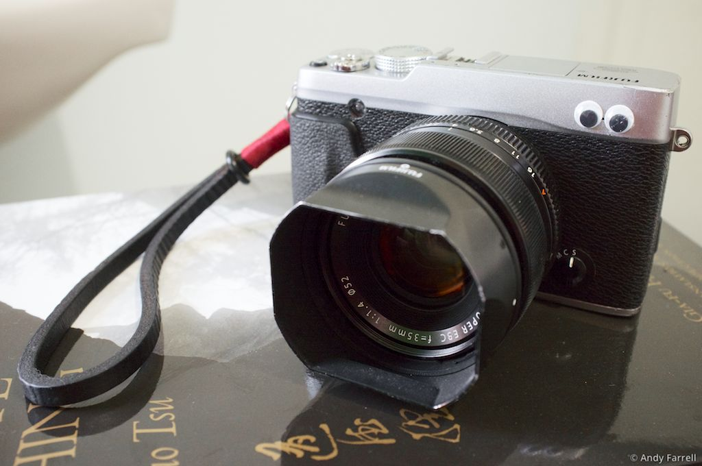Fuji X-E1 with XF 35mm lens