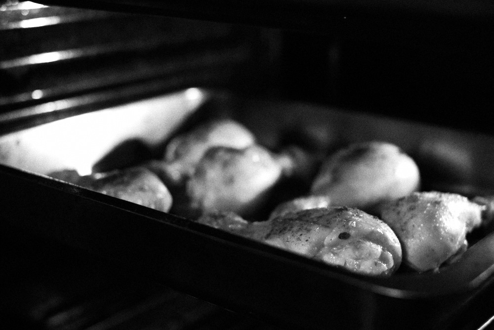 chicken drumsticks in the oven
