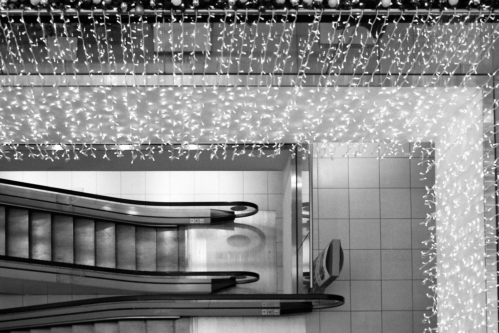 House of Fraser escalator