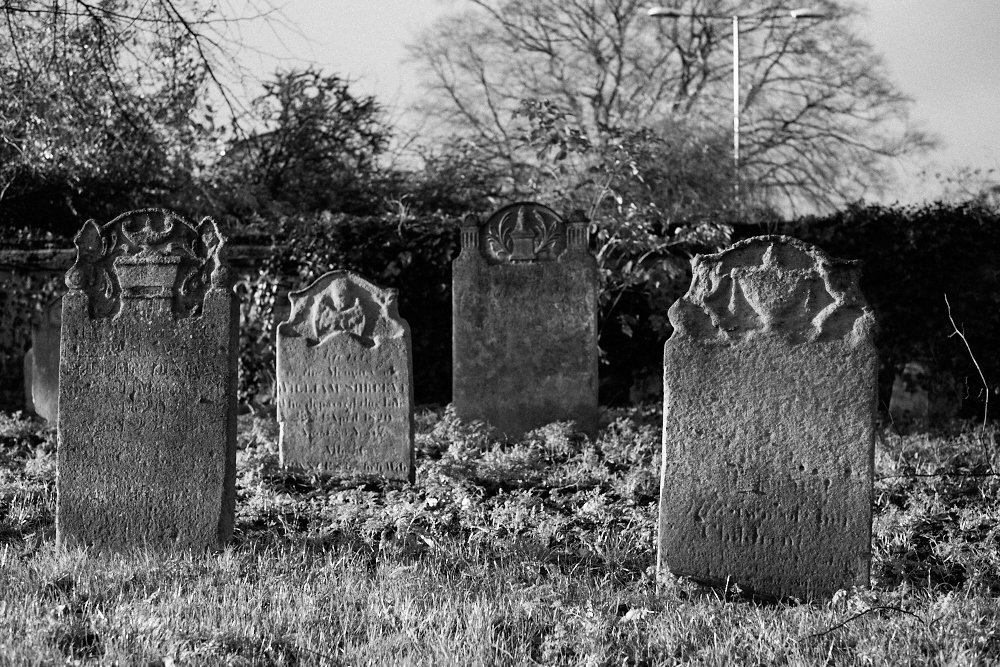 gravestones at St Stephen's