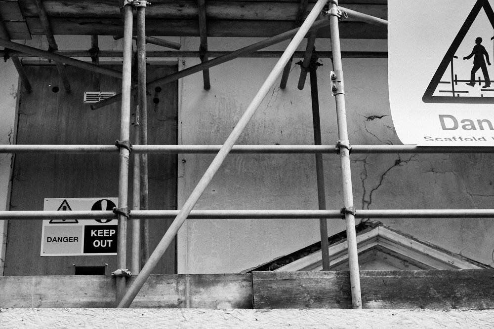 scaffolding and warnings