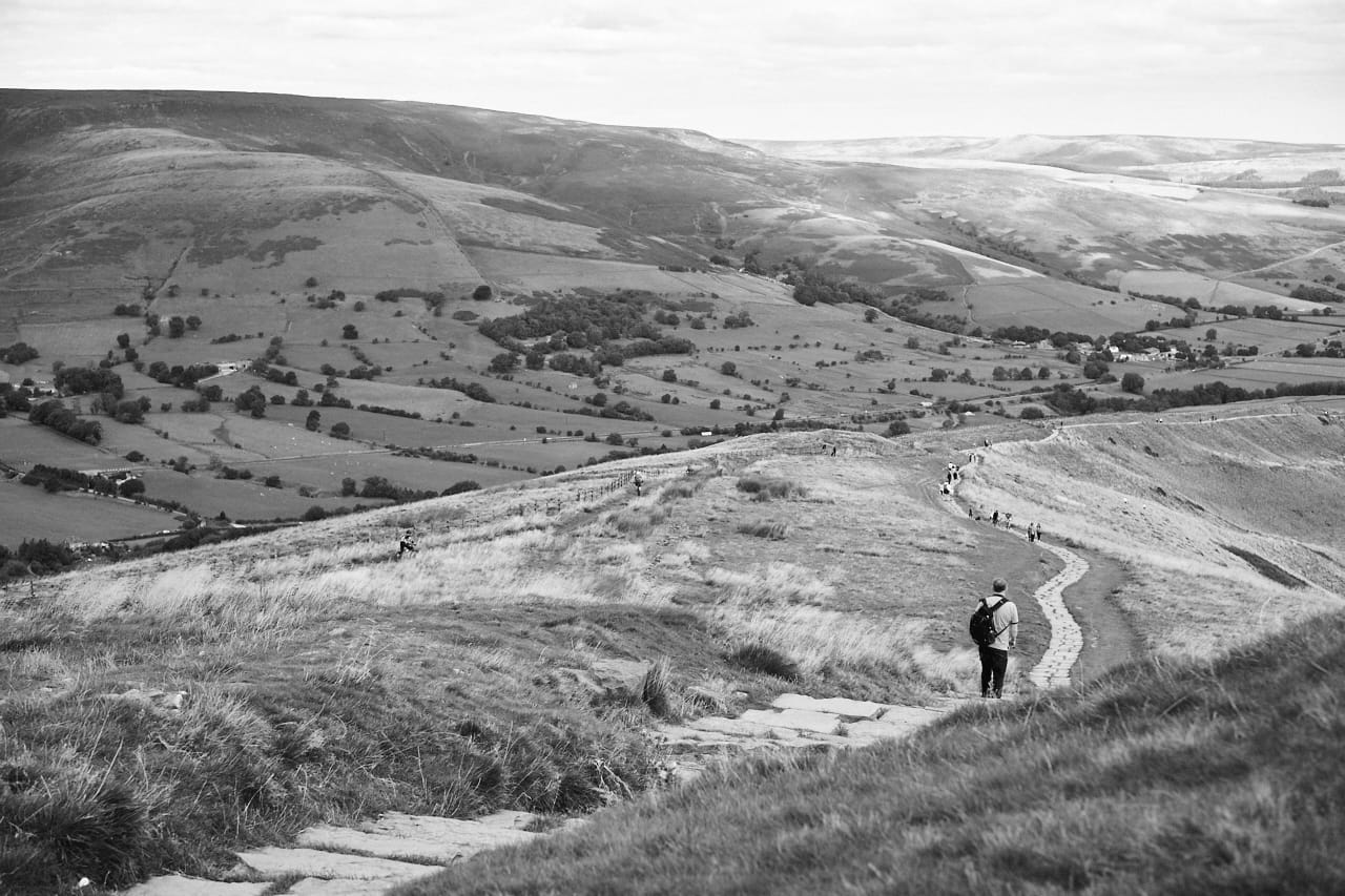 Mam Tor ridge path