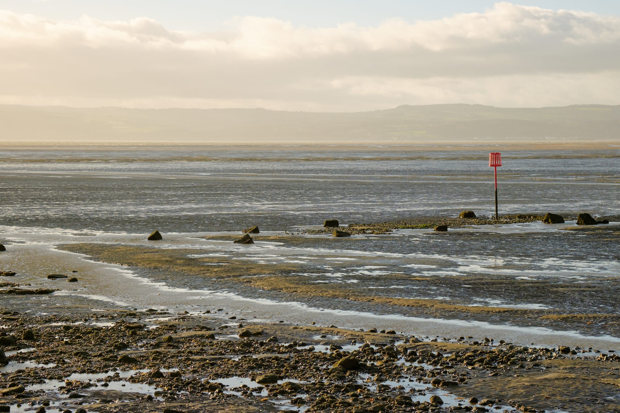 looking out over the mouth of the River Dee from West Kirby