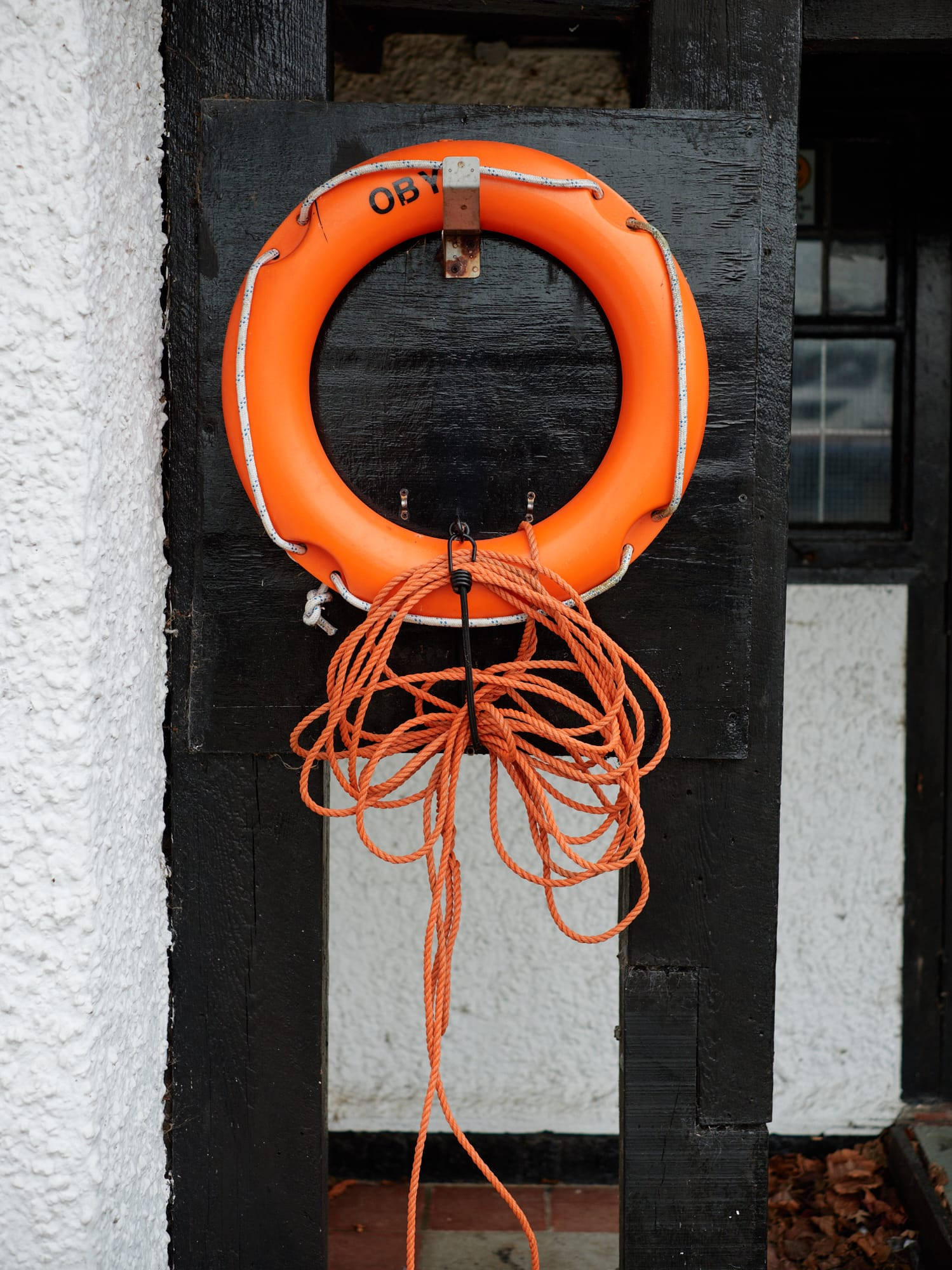 life ring on a hook
