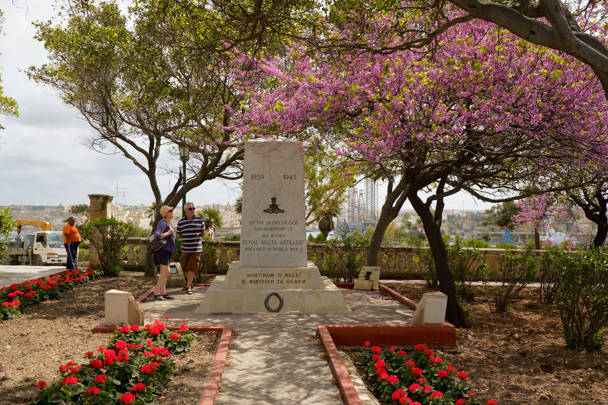 Royal Malta Artillery war memorial