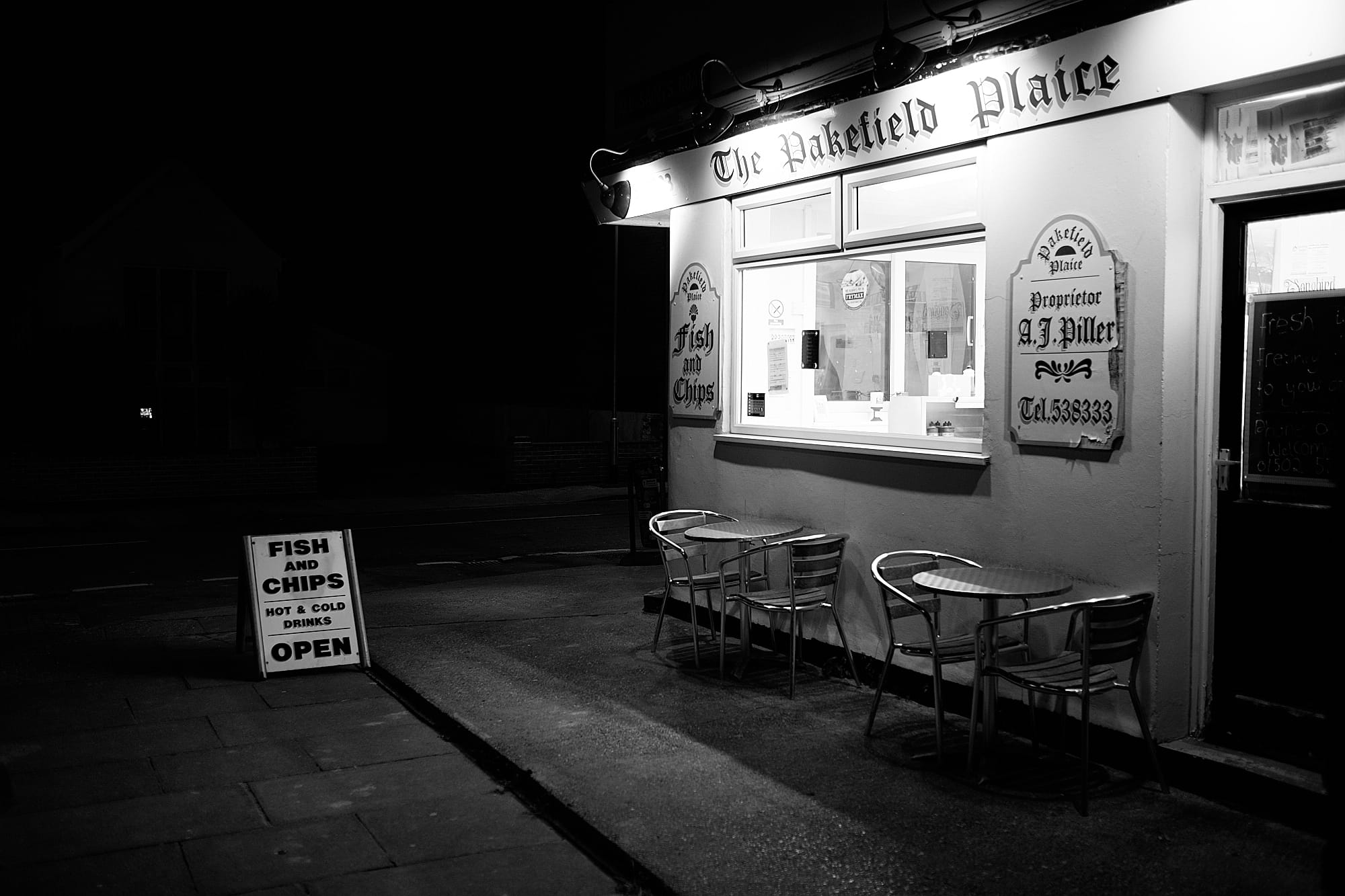Pakefield Plaice fish and chip shop