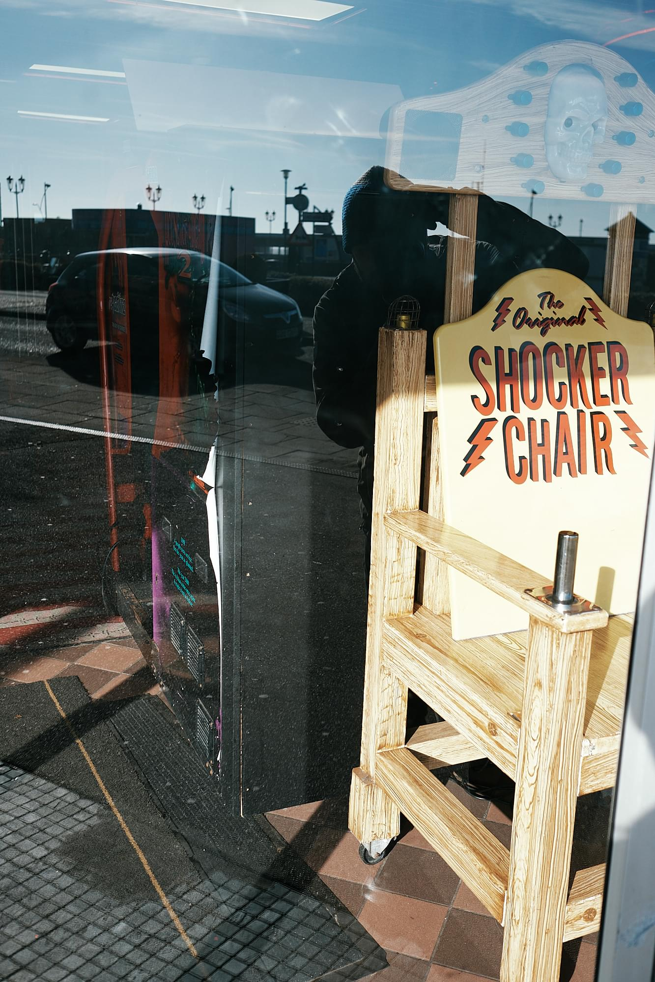 'shocker chair' attraction